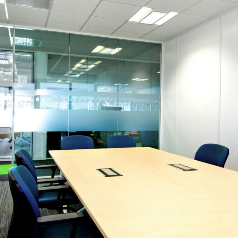 view of meeting room for 4 people